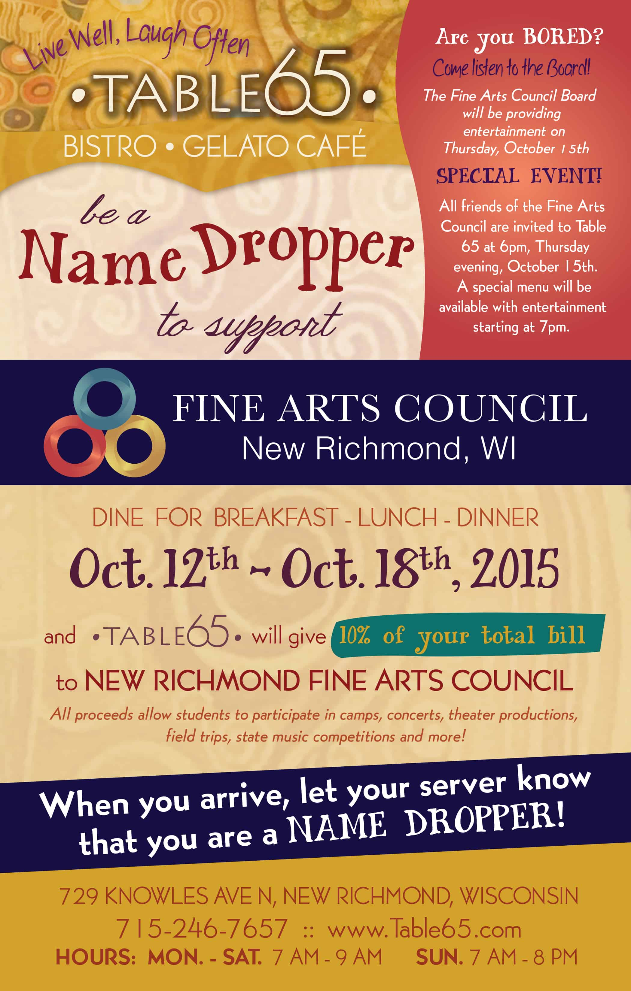 Table65_Flyer_NameDroppers_NRFineArts